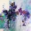 Blue/lavendar Floral